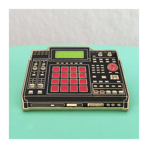 Enamel Pin : Charming Afternoon - MPC 2500 Drum Machine (Black) - MeMe Antenna