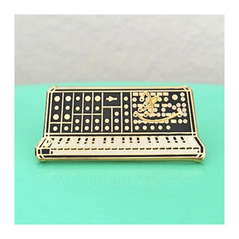 Enamel Pin : Charming Afternoon - Synth Keyboard - 5th Edition - MeMe Antenna