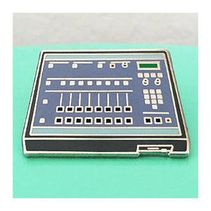 Enamel Pin : Charming Afternoon - E-Mu SP-1200 Drum Machine - MeMe Antenna