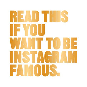 Read This if You Want to Be Instagram Famous - MeMe Antenna