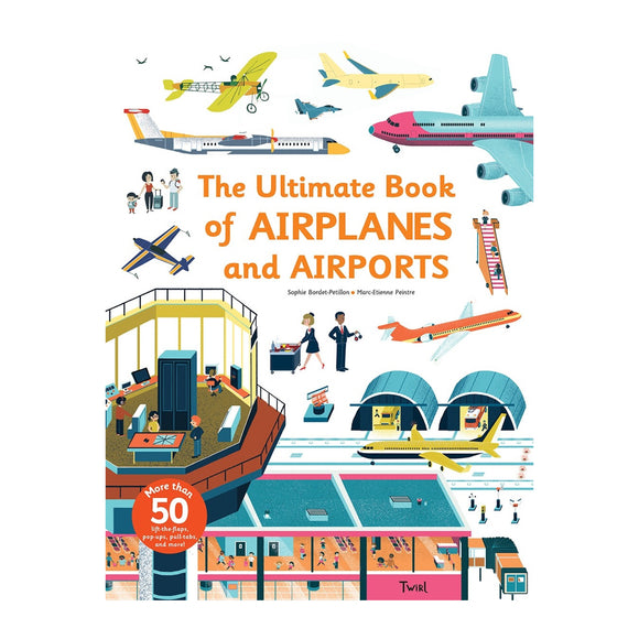 The Ultimate Book of Airplanes and Airports - MeMe Antenna
