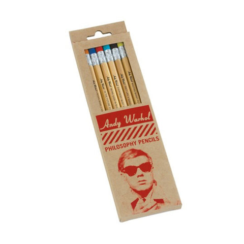 Pencils: Warhol Philosophy Colored Pencils - MeMe Antenna