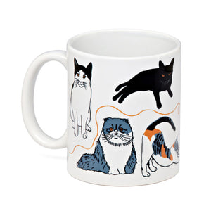 Mug - Cat 11oz - MeMe Antenna