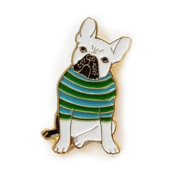 Enamel Pin - Dog - MeMe Antenna