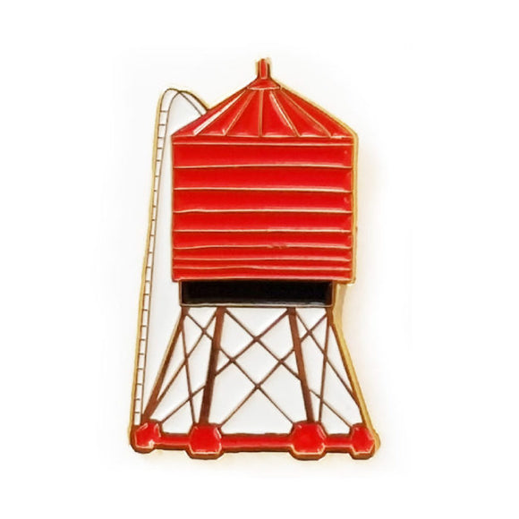 Enamel Pin - Water Tower - MeMe Antenna