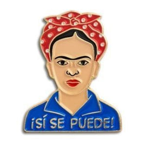 Enamel Pin : The Found - Frida Si Puede - MeMe Antenna
