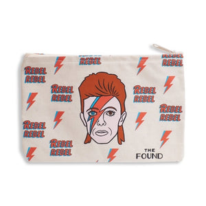 Zipped Pouch : The Found - David Bowie - MeMe Antenna