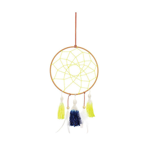 Dreamcatcher - Blue & Yellow - MeMe Antenna