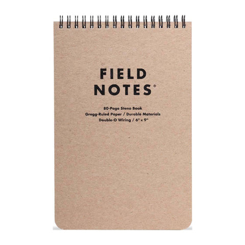 FIELD NOTES - STENO - Gregg-Ruled - MeMe Antenna