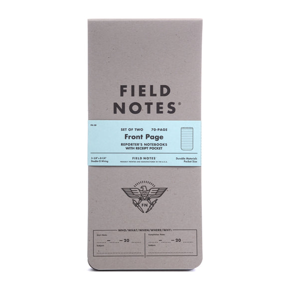 FIELD NOTES - Front Page - Reporter's Notebook - MeMe Antenna