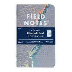 FIELD NOTES - COASTAL East - Foil-Stamped Coastlines - MeMe Antenna
