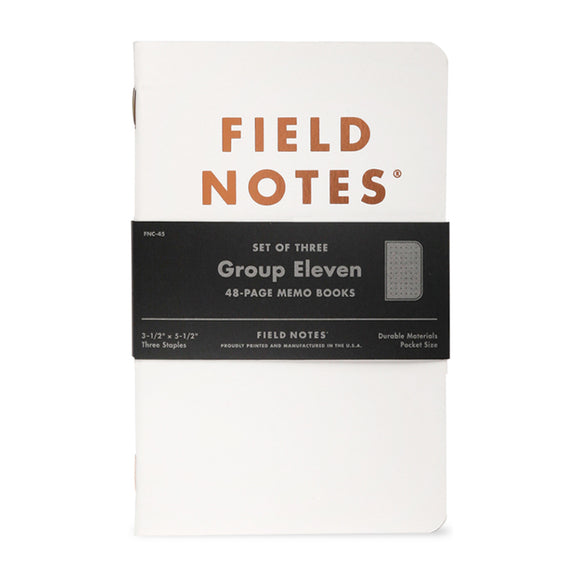 FIELD NOTES - Group Eleven 3-Pack - MeMe Antenna
