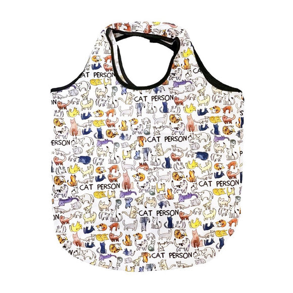 Tote - Cat Person Packable Shopper - MeMe Antenna