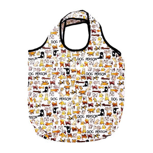 Tote - Dog Person Packable Shopper - MeMe Antenna