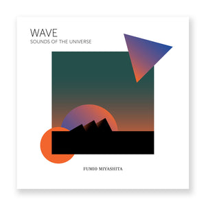 "Fumio Miyashita ""WAVE"" Sounds of Universe LP - MeMe Antenna"