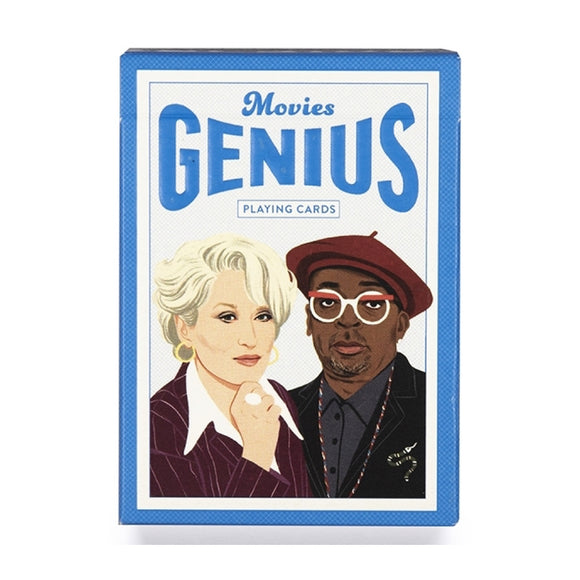 Playing Cards - Genius Movies Playing Cards - MeMe Antenna