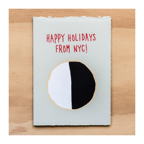 Holiday Greeting Card Set - Holiday B&W Cookie Boxed Set (6) - MeMe Antenna