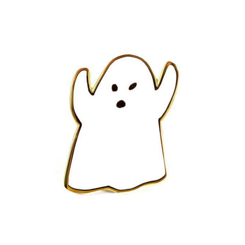 Enamel Pin : Valley Cruise Press - Golden Ghost Pin - MeMe Antenna