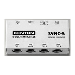 Kenton SYNC-5 - 1 into 5 DIN Sync box (NOT MIDI) - MeMe Antenna