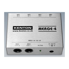 Kenton MERGE-4 - 4 in to 2 out MIDI merge box - MeMe Antenna