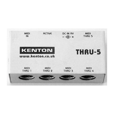 Kenton THRU-5 - 1 in to 5 MIDI Thru box-MeMe Antenna