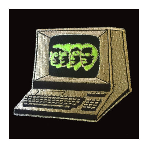 Iron On Patch: Khonka Klub - Computerwelt - MeMe Antenna