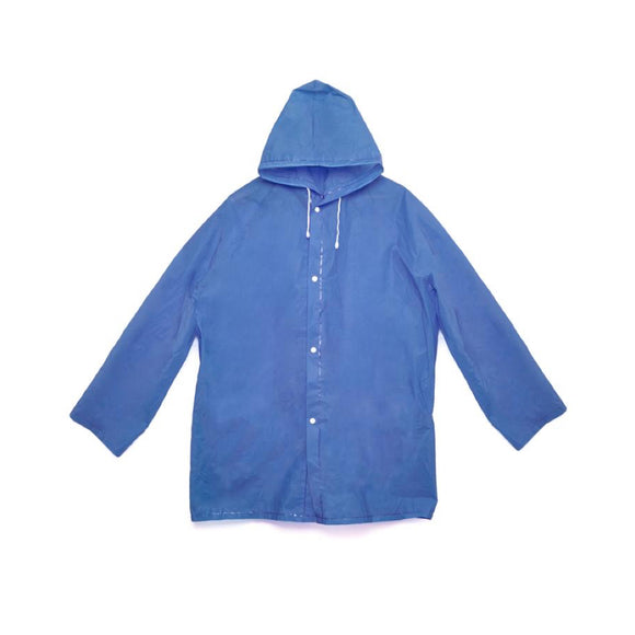 Compact raincoat - Blue - MeMe Antenna