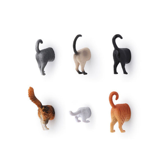 Magnets - Butts Animal - Cat - MeMe Antenna