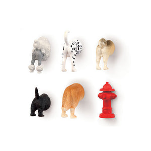 Magnets - Butts Animal - Dog - MeMe Antenna