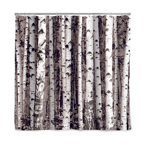 Shower Curtain - Birch - MeMe Antenna