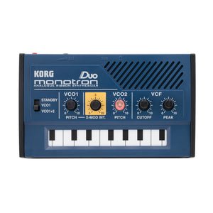 Korg Monotron DUO - Analogue Ribbon Synth Dual OSC - MeMe Antenna