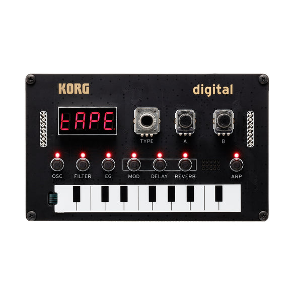 Korg Nu:Tekt NTS-1 digital Kit - Programmable Synthesizer Kit - MeMe Antenna