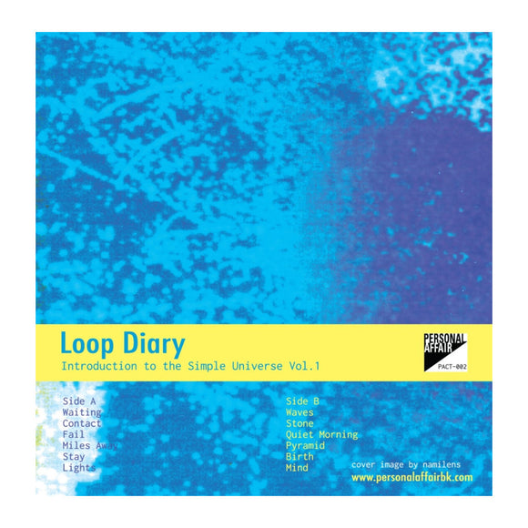 Cassette PACT-002 - Loop Diary: Introduction to the Simple Universe Vol.1 - MeMe Antenna