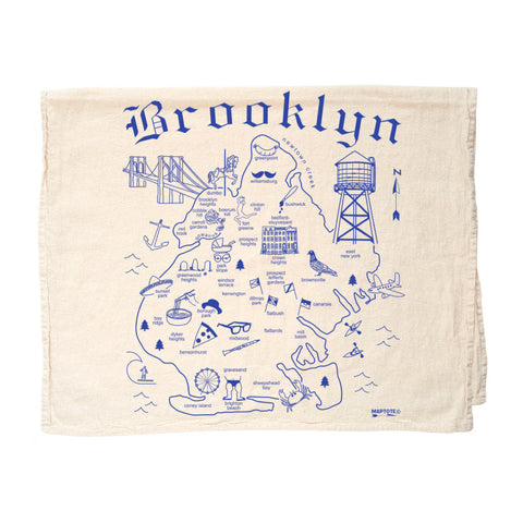 Tea Towel - Brooklyn - MeMe Antenna