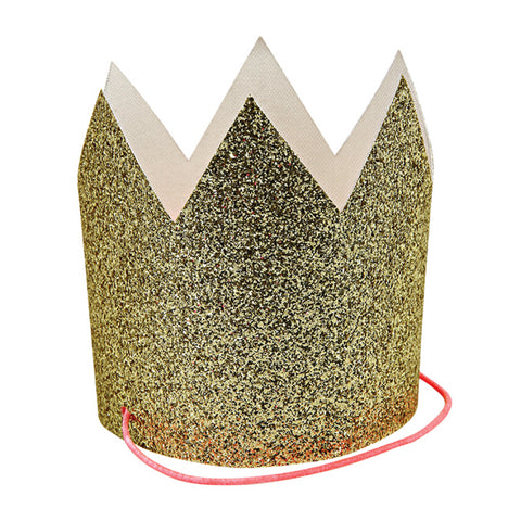 Party Hats - Mini Gold Glittered - MeMe Antenna