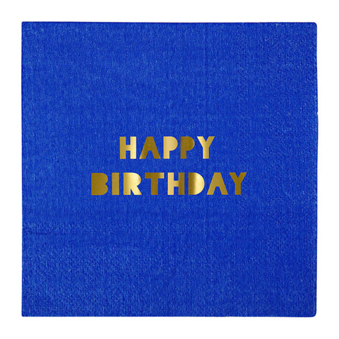 Small Napkin - Happy Birthday - MeMe Antenna