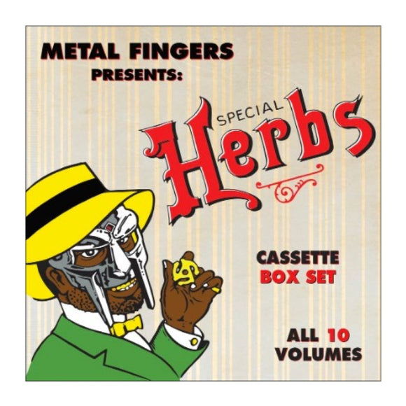 MF DOOM - Special Herbs (5XCassette Box Set) - MeMe Antenna