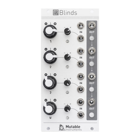 Mutable Instruments Blinds - MeMe Antenna
