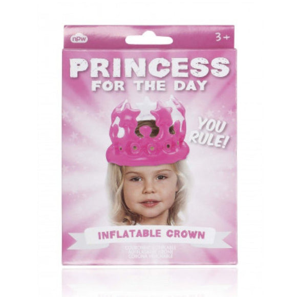 Inflatable Crown - Princess for the day - MeMe Antenna