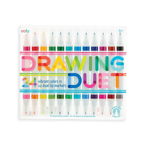 Drawing Duet Double-Ended Markers - MeMe Antenna
