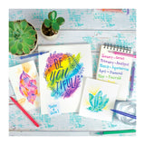 Chroma Blends Heavy Weight Watercolor Paper Pad - MeMe Antenna