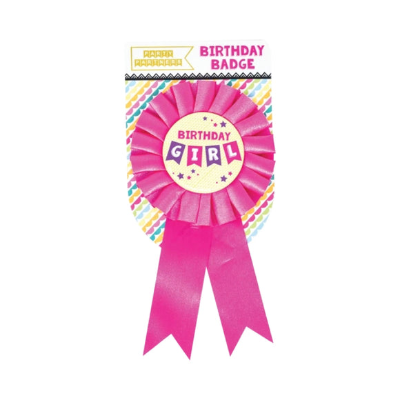 Birthday Badge - Girl - MeMe Antenna