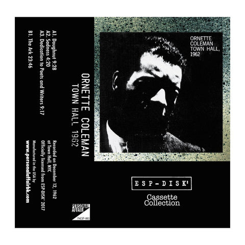 Cassette Collection ESP-Disk' - Ornette Coleman : Town Hall 1962 - MeMe Antenna