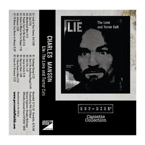 "Cassette Collection ESP-Disk' - Charles Manson ""Lie: The Love and Terror Cult"" - MeMe Antenna"