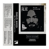 "Cassette Collection ESP-DISK' - Charles Manson ""Lie: The Love and Terror Cult"" Limited Edition - MeMe Antenna"