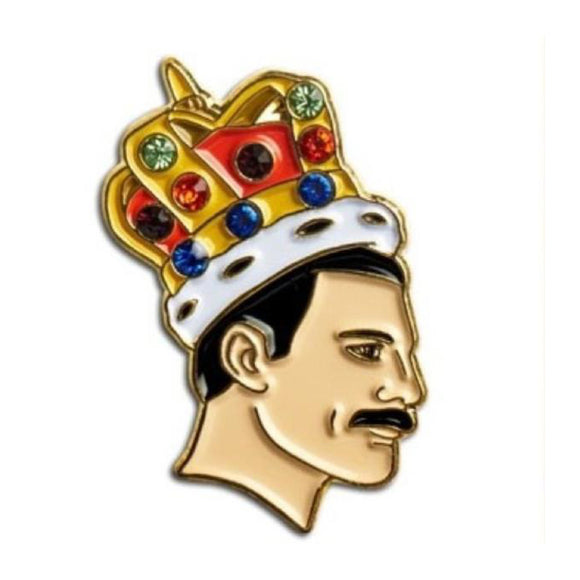 Enamel Pin : The Found - Freddie Mercury - MeMe Antenna
