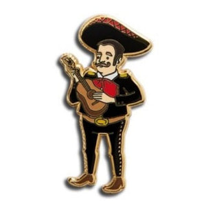 Enamel Pin : The Found - Mariachi Player - MeMe Antenna