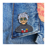 Enamel Pin : The Found - Warhol - MeMe Antenna