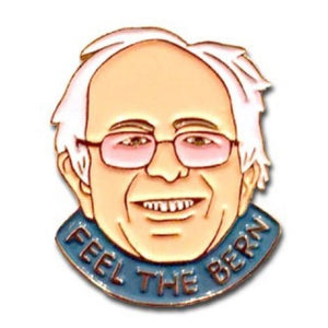 Enamel Pin : The Found - Feel The Bern - MeMe Antenna