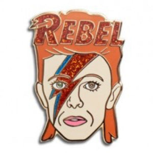 Enamel Pin : The Found - David Bowie - MeMe Antenna